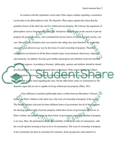 Essay Of Science Communism Vs Capitalism Thesis Essay Examples also Business Essay Example Communism Vs Capitalism Essay Example  Topics And Well Written  Essay Thesis