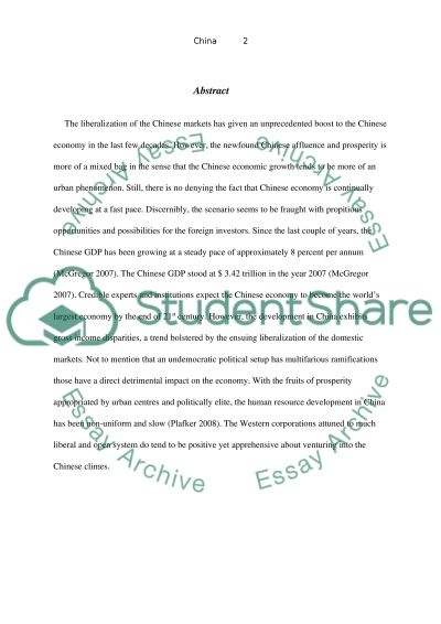Global Marketing Case Study essay example