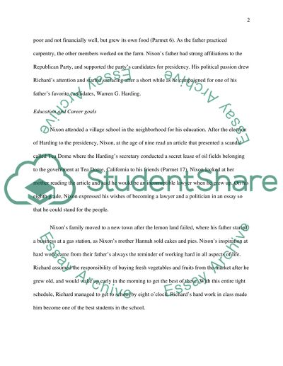 Essay Samples For High School Students Richard M Nixon Essays On Science And Religion also Essay Tips For High School Richard M Nixon Essay Example  Topics And Well Written Essays  Essay Writing On Newspaper