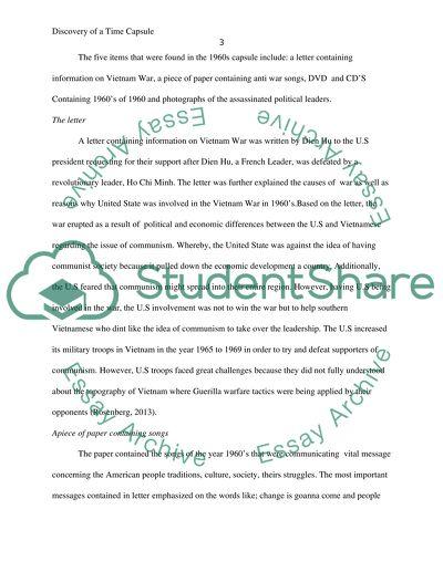 High School Senior Essay Discovery Of A Time Capsule  Essay Example Barack Obama Essay Paper also Topic For English Essay Discovery Of A Time Capsule Essay Example  Topics And Well Written  How To Write A Good Proposal Essay