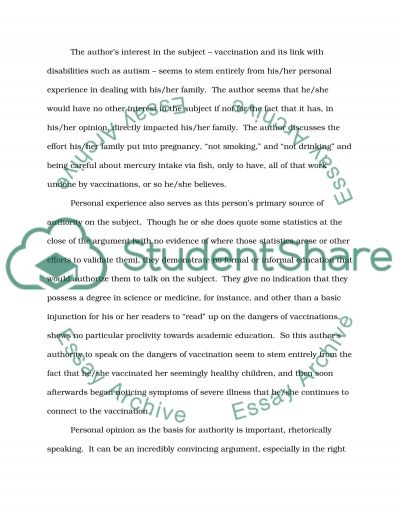 Emotions and personal experience in rhetoric essay example