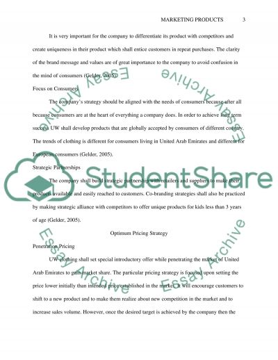 Branding, Pricing and Distribution essay example