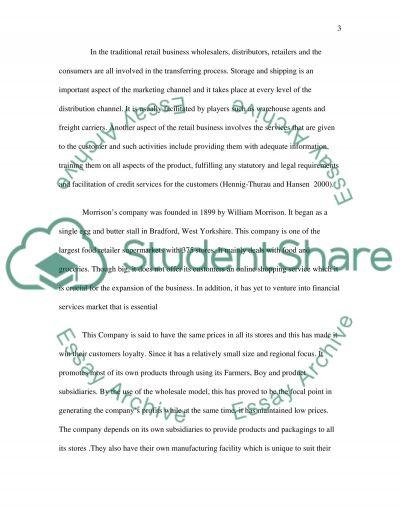 Relationship Marketing Master Essay