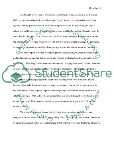 Scientific Concept Research essay example