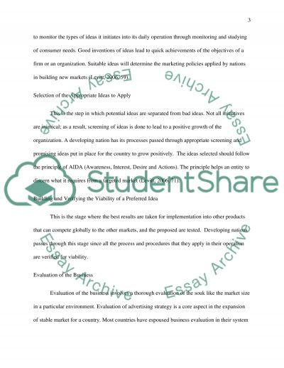 Market Development and the Importance of Economic Development to Marketers essay example