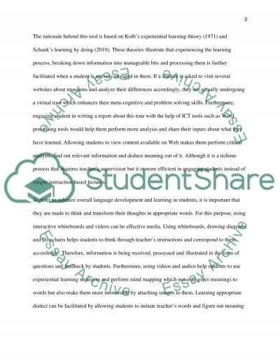 Patch 1 essay example