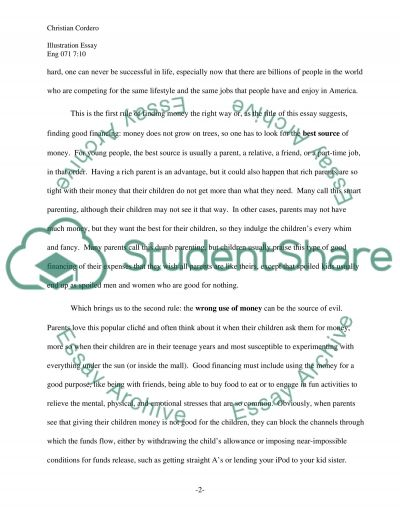 The Need for Good Financing essay example