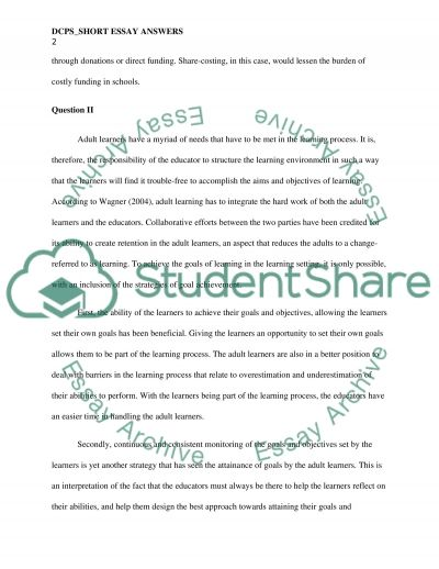 DCPS_ Short essay answers