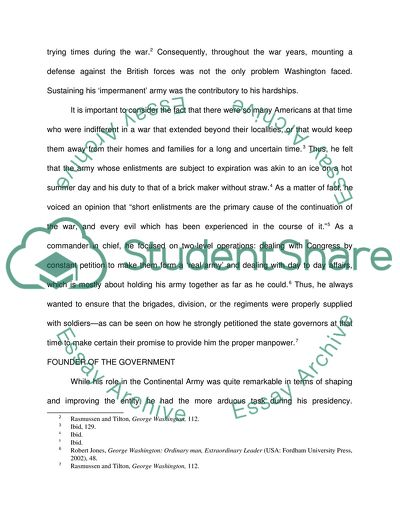 Essay In English Literature  Analysis Essay Thesis Example also Essay On Global Warming In English George Washington A Better President Than A General Research  High School Essay Format