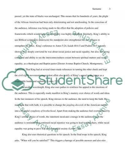 i have a dream essay example read text preview - I Have A Dream Essay Examples