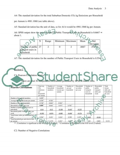 Data Analysis (Applied Research Method) Essay example