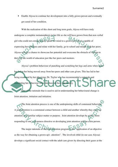 Behavioural Intervention Grading Scheme