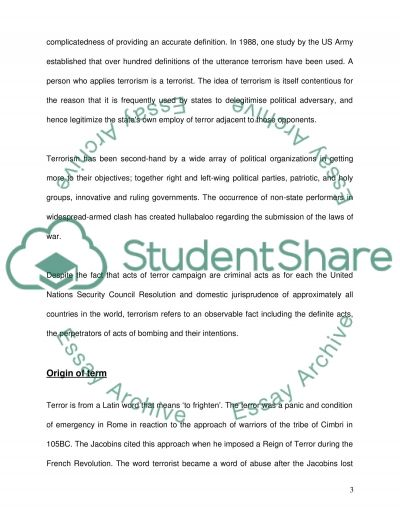 National Security essay example