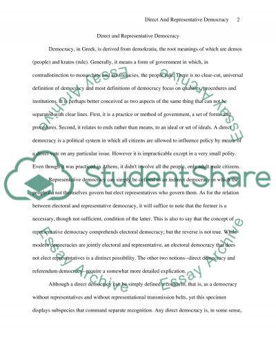 Political ideas, under international relations essay example