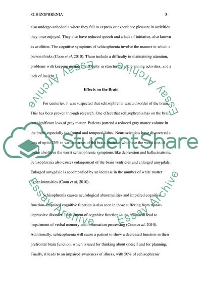 Science Fiction Essays Ways Of Treatment Schizophrenia Essays On High School also Example Of An Essay With A Thesis Statement Ways Of Treatment Schizophrenia Essay Example  Topics And Well  Examples Of A Thesis Statement For A Narrative Essay