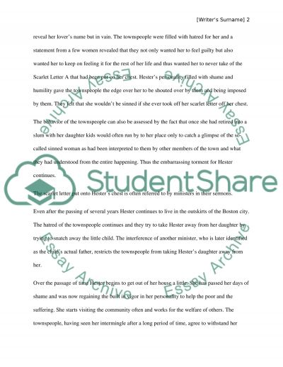 scarlet letter by nathaniel hawthorne essay example topics and  scarlet letter by nathaniel hawthorne essay example