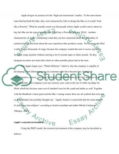 APPLE, INC essay example
