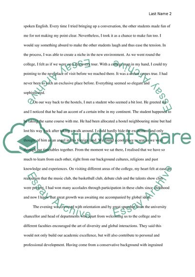 First Day In College Essay  Sample Autobiography Essays also Examples Of An Autobiographical Essay First Day At College Essay Example  Topics And Well Written  Essay Style Paper