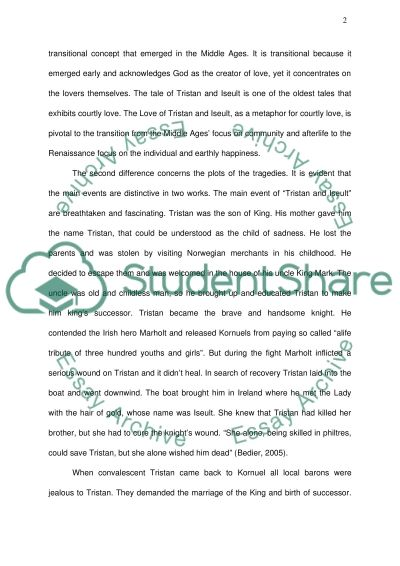 The Worlds Greatest Love Stories essay example