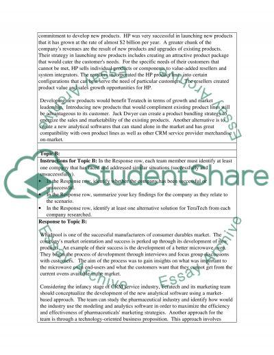 Generic Benchmarking Worksheet essay example