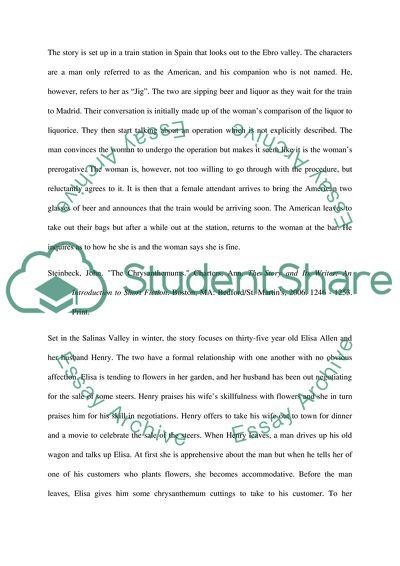 Descriptive Annotation: An Introduction to Short Fiction