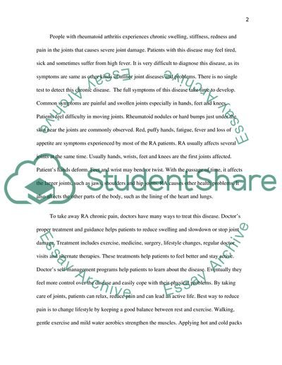Occupational therapy application essay