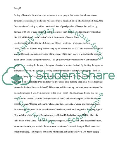 Sample Thesis Essay Movie  Essay On Business also High School Graduation Essay Movie  Essay Example  Topics And Well Written Essays   Words How To Write An Application Essay For High School
