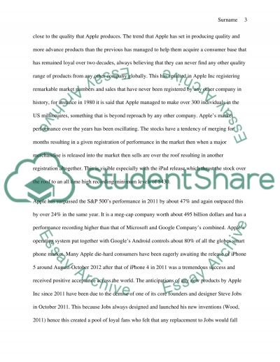 Marketing strategy and tactics for a new product or brand: Apple Inc essay example