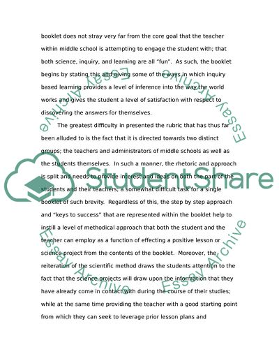 Environmental Health Essay  Essay On My Mother In English also Baraka Essay Basic Rhetorical Analysis Of Science Fair Project Booklet Essay Essay In Third Person