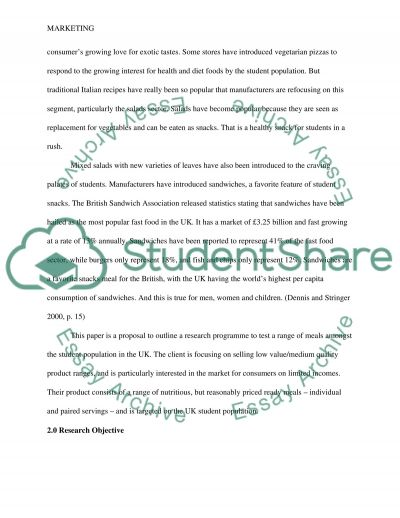 Research For Marketing Practitioners essay example