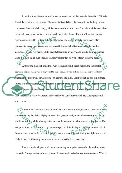 English Essay My Best Friend  Science And Technology Essay Topics also Narrative Essay Topics For High School Literacy Narrative Essay Example  Topics And Well Written  English Essay Writer