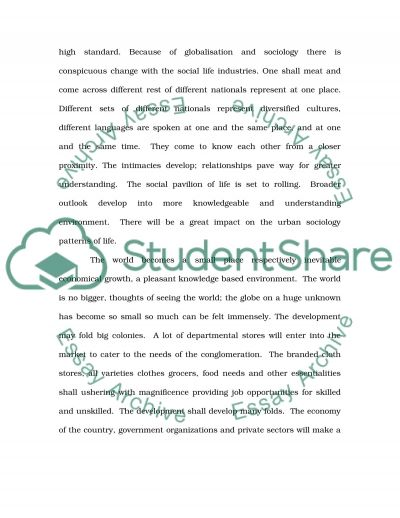 Global Marketing Essay essay example