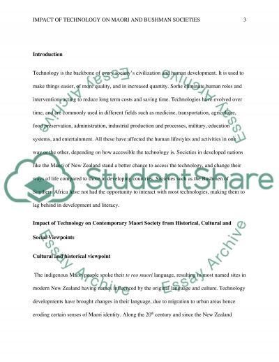 Assignment 5 essay example