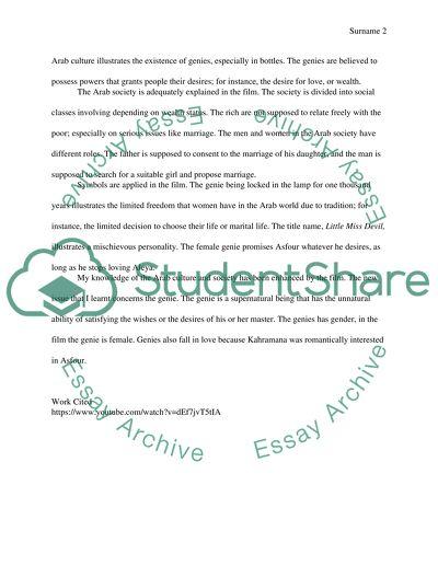 Respone essay