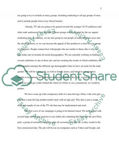 Marketing Campaign essay example