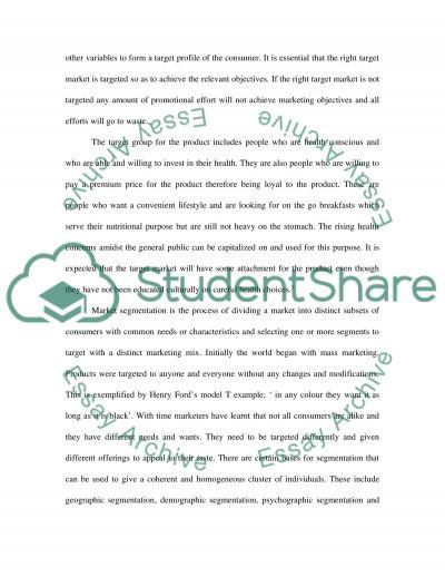 Marketing Strategies Case Study essay example
