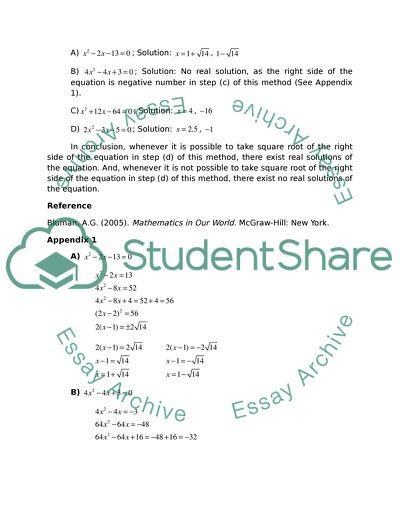 Quadratic Equations and Prime Numbers