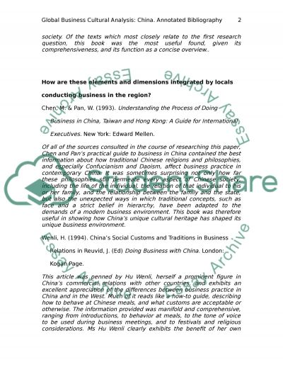 analysis of business in annotated bibliography analysis of business in essay example