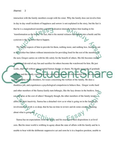 Reflective Essay On English Class Metamorphosis Business Plan Writers In Houston also Science Essay Example Metamorphosis Essay Example  Topics And Well Written Essays    Thesis Essay Topics