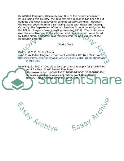 Head Start Program Introduction