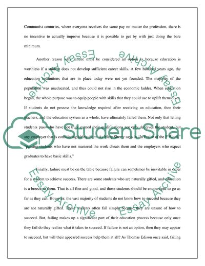 Personal Essay Samples For High School Why Failure Is On The Path To Success English Language Essay Topics also Reflective Essay Thesis Why Failure Is On The Path To Success Essay Example  Topics And  Thesis Statement Narrative Essay