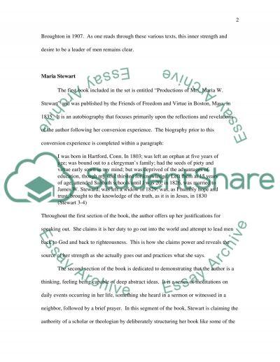 Spiritual Narratives essay example