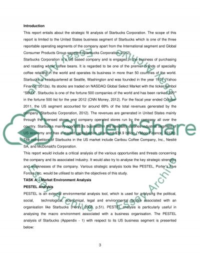 Starbucks Coffee Company Analysis essay example