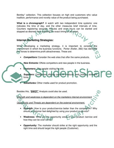 Reflective Essay On English Class Internet Marketing Management Assignment About Breitling Watches  Httpwwwbreitlingcom  Words Reflection Paper Essay also Research Paper Essay Example Internet Marketing Management Assignment About Breitling Watches Essay Good Synthesis Essay Topics