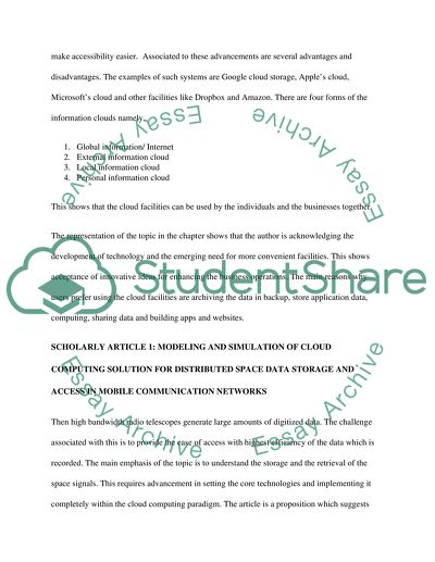 The Future Of Cloud Computing Essay Example  Topics And Well  The Future Of Cloud Computing Graduating High School Essay also Custom Writing Service Coupon  English Essay Introduction Example