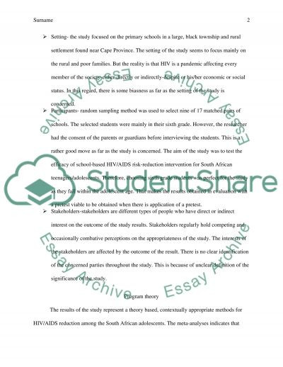 Paper critic for program evaluation essay example