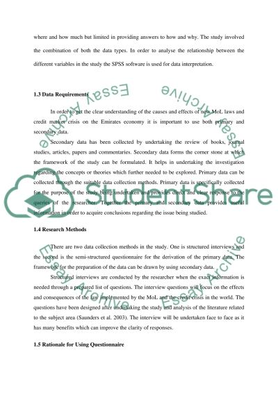 Global Credit Crisis and Emiratization essay example