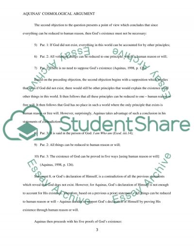 Assignment Handout for Essay  2:critical exposition of an argument Essay example