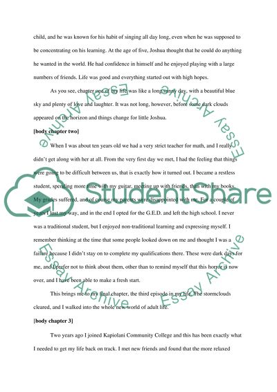 essay on what you learned in speech class