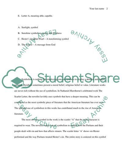 Nathaniel Hawthorne Essay Examples | Graduateway